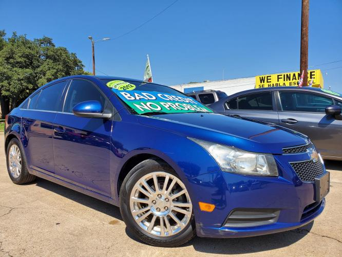 2012 CHEVROLET CRUZE ECO 4 DOOR SEDAN